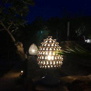 pigna lampada oldnoar 300x300 - La Pigna in ceramica nella tradizione siciliana