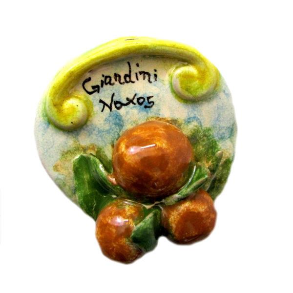 calamita arance ceramica sicilia