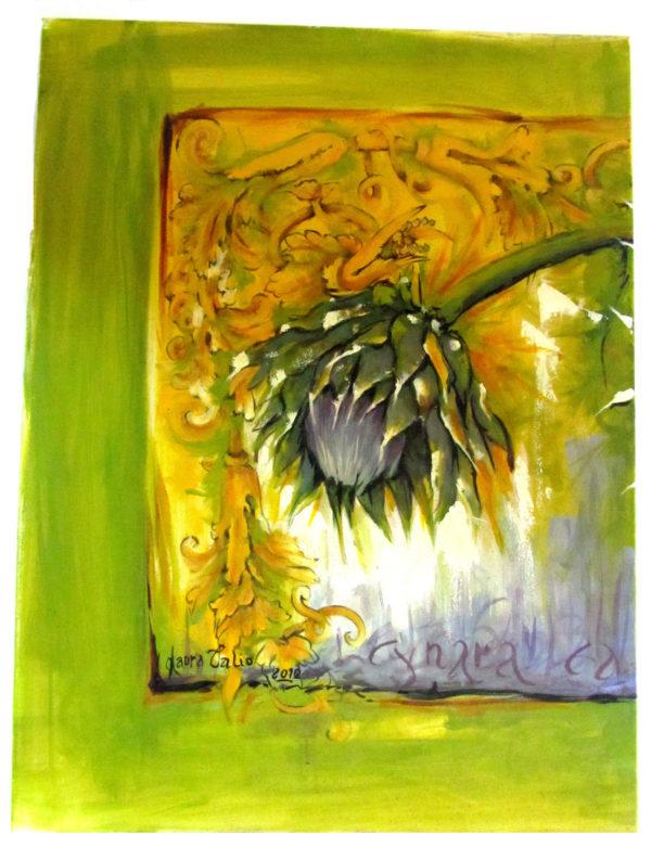 IMG 5374 scaled 600x781 - Trittico Cynara  80 x 180 cm