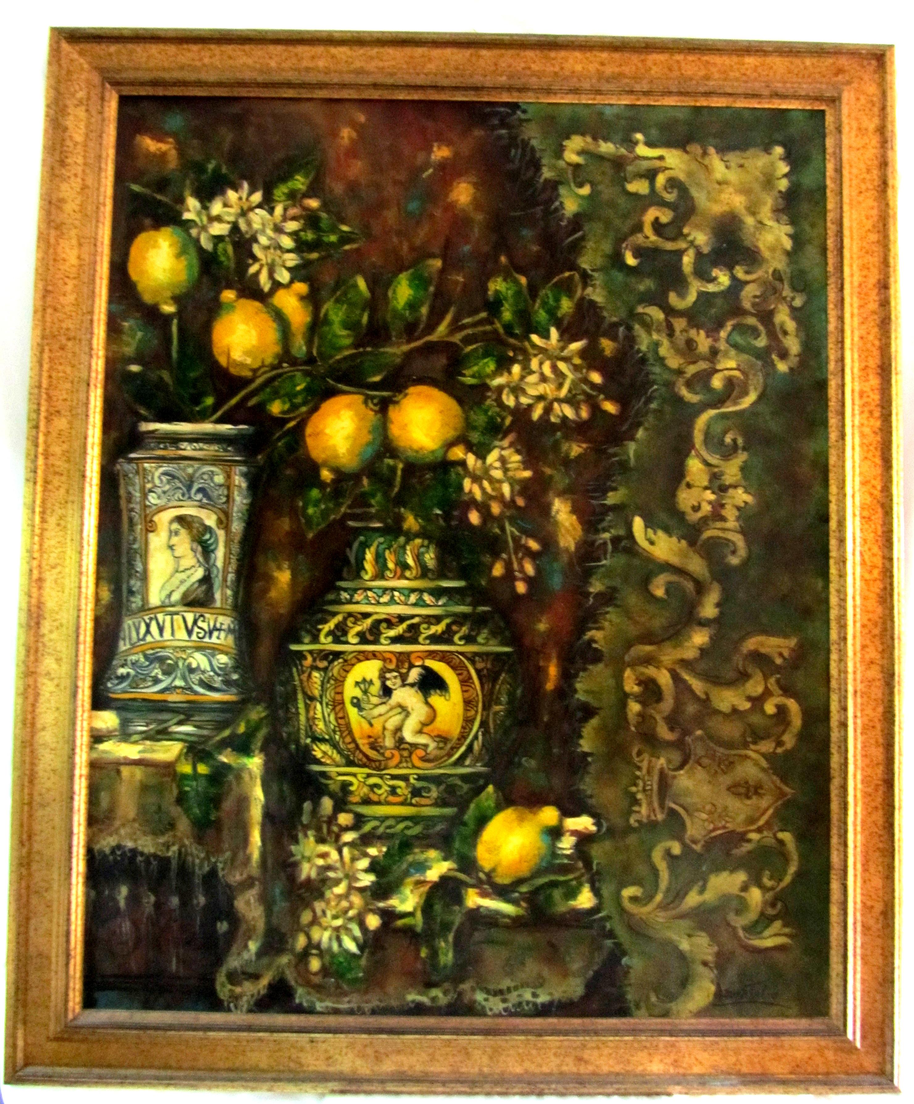 IMG 5382 - Composizione siciliana 100 x 80 cm