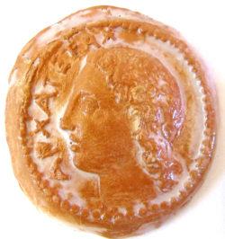 IMG 5421 250x266 - Moneta Apollo Archegeta 11 x 11 cm (cod.MIT2)