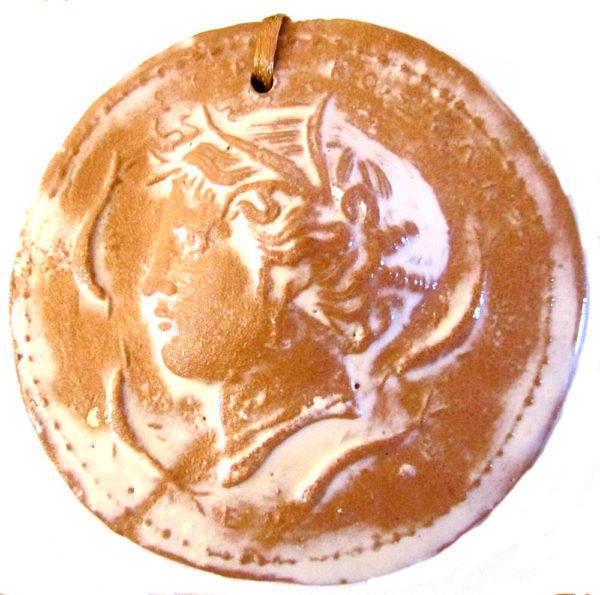 IMG 5427 600x595 - Moneta Aretusa 8 x 8 cm (cod. MIT4)