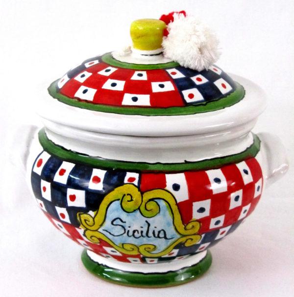 ca11a scaled 600x608 - Zuccheriera Sicilia 14 x 15 cm (cod. CA11)