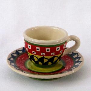 ca17 300x300 - Tazzina e piattino caffè 6 x 11,5 cm (cod. CA17)