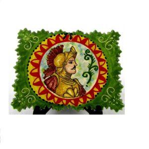 ca68ant 300x300 - Mattonella Orlando verde 12 x 16 cm (cod. CA68)