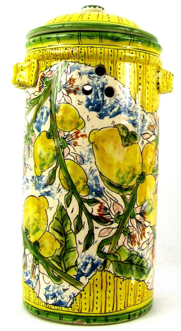 lm1d 600x1093 - Vaso gambero limoni 36 x 34 cm (cod. LIM1)
