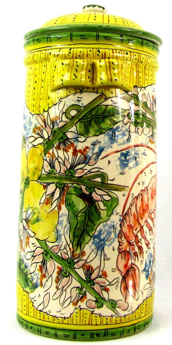 lm1e 600x1200 - Vaso gambero limoni 36 x 34 cm (cod. LIM1)
