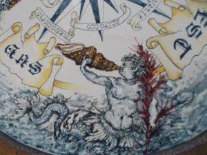 conchiglia.tavolo 2 300x225 - Las conchas y el mar de BluArte Giardini Naxos Taormina