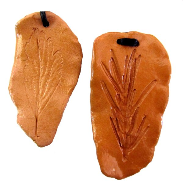 foglie terracotta
