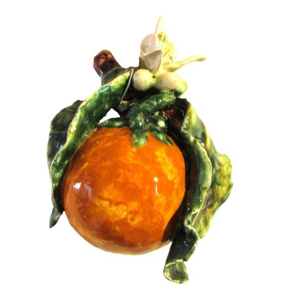 arancia con zagare di ceramica