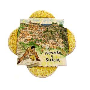 Lanciatore di maiorchino a Novara di Sicilia