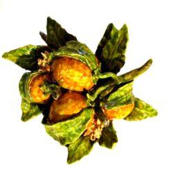 quattro.arance. 250x250 - Composizione quattro arance e zagare 24 x 24 cm (Cod. COM10)