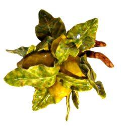 quattro limoni siciliani di ceramica
