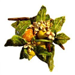 limoni e arance siciliane di ceramica