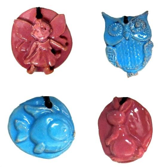 collane bambini - Dolci tenerezze 3 x 3 cm (cod. COL5)