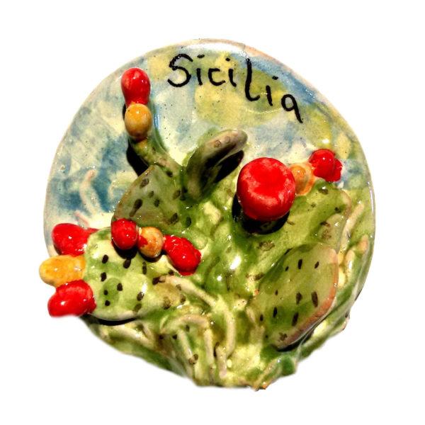 calamita ceramica fichi d'india sicilia