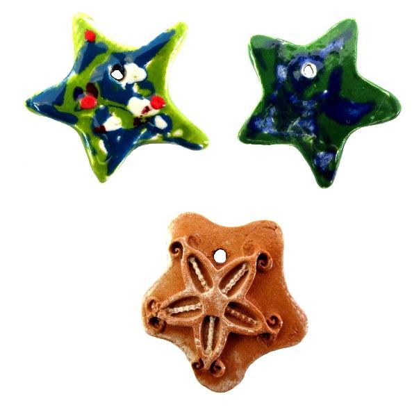 collana stella ceramica taormina