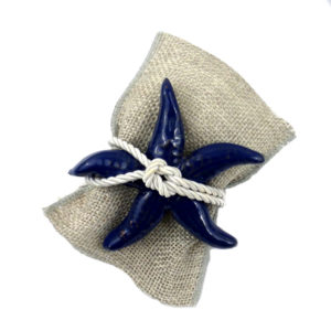 bomboniera stella marina ceramica