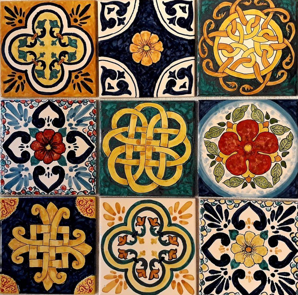 patchwork1 1 1024x1015 - La decorazione a Patchwork di BluArte Giardini Naxos Taormina