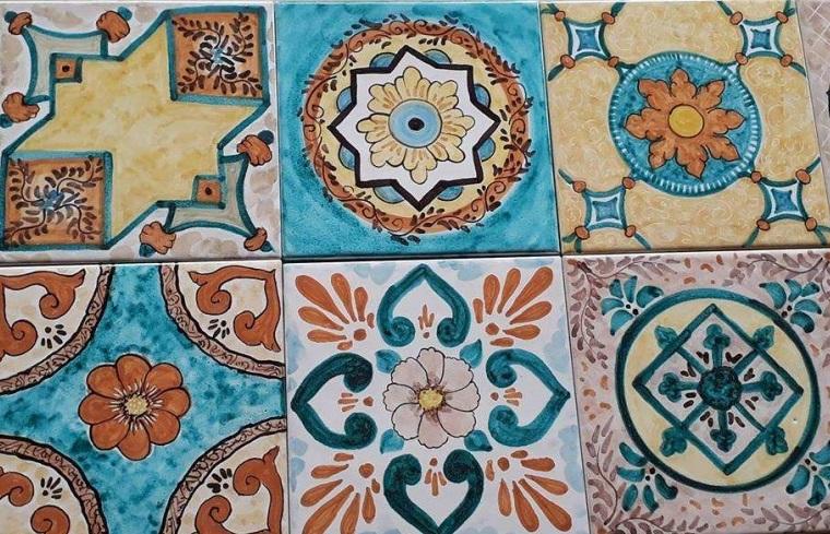 patchwork2 - La decorazione a Patchwork di BluArte Giardini Naxos Taormina