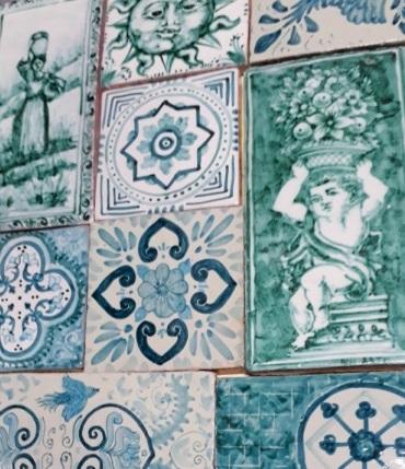 patchwork5 1 - La decorazione a Patchwork di BluArte Giardini Naxos Taormina