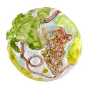 calamita uva ceramica sicilia