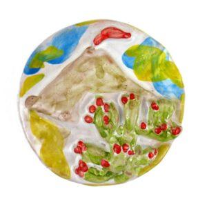 calamita etna fichi d'india ceramica siciliana