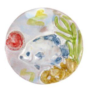 calamita pesci ceramica siciliana
