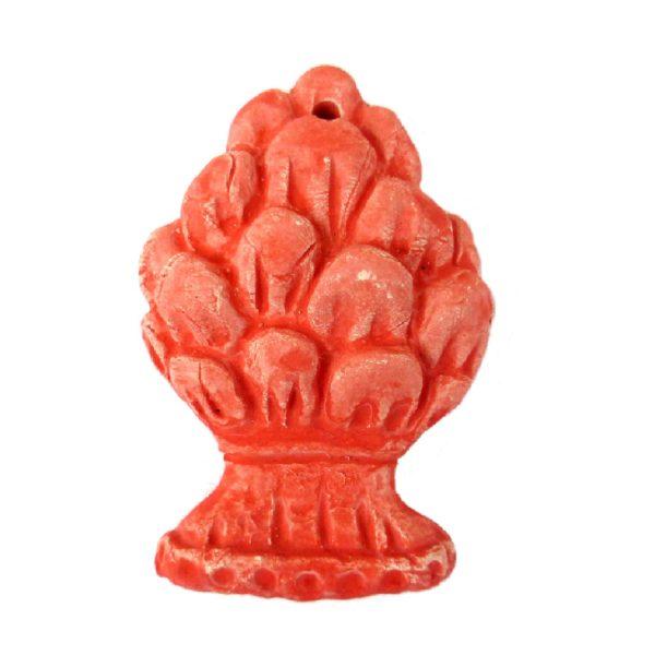 calamita.pigna .rossa  600x600 - Calamita pigna 5,5 x 4 cm