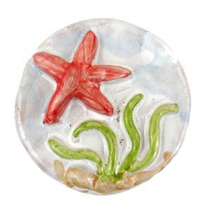 calamita stella marina mare ceramica