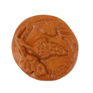 calamita moneta naxos ceramica