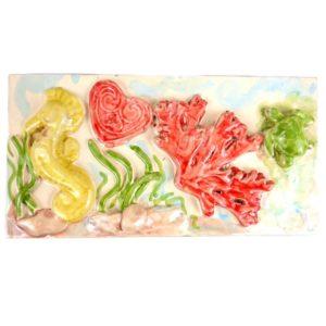 ceramica tema marino