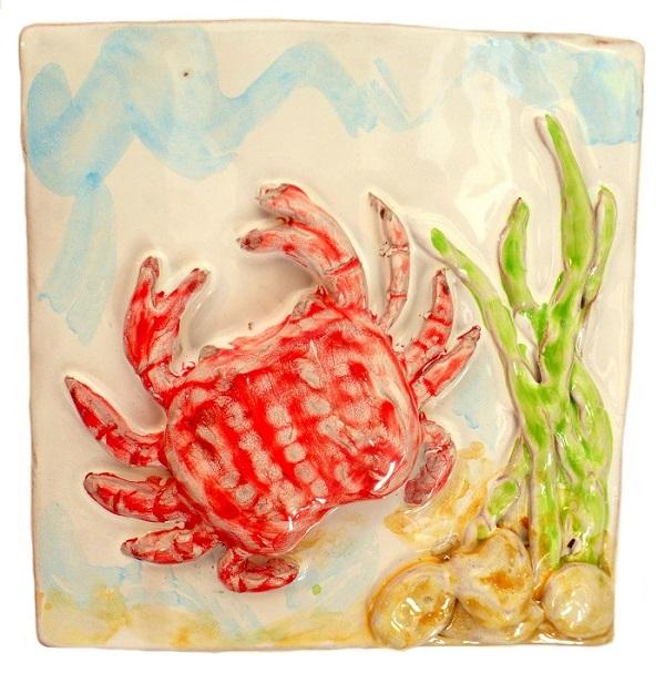 granchio ceramica taormina