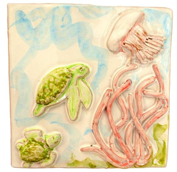 medusa tartarughe ceramica taormina
