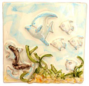 pesce.trepesciolini 300x290 - pesce.trepesciolini ceramica mare