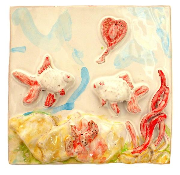 pesci in ceramica taormina